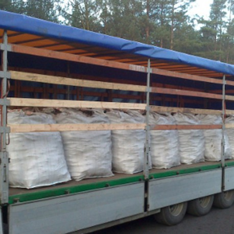TORFBRIKETTS-LKW 21 Tonne